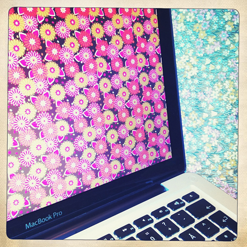 Floral MacBook