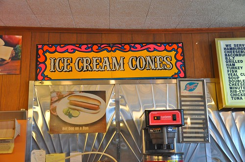 Ice Cream Cones Sign