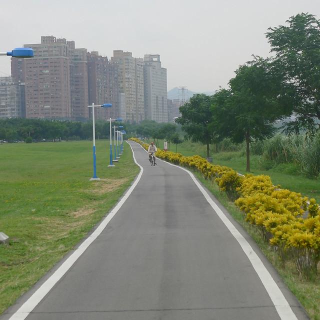 中永和區河濱自行車道