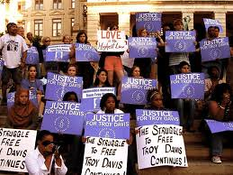 Demonstrations were held throughout the United States in solidarity with Troy Anthony Davis, 42, who was executed by the State of Georgia on September 21, 2011. by Pan-African News Wire File Photos