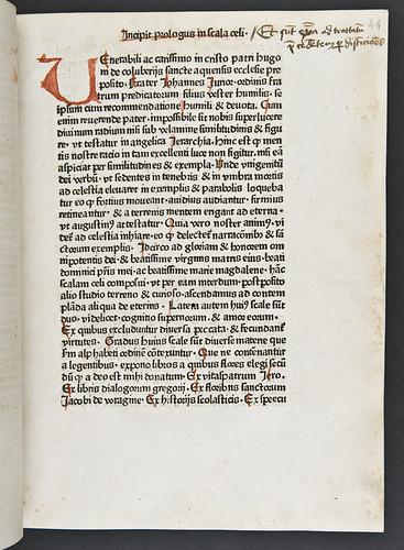 Manuscript note in Gobius, Johannes (junior): Scala coeli