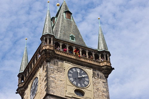 Prague Astronomical Clock Tower Top