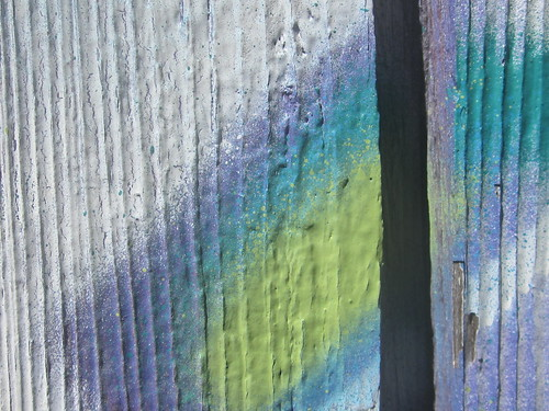 Colorful Wood Grain Detail