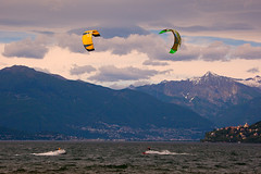 "Kitesurfing on Lago Maggiore • <a style=""font-size:0.8em;"" href=""http://www.flickr.com/photos/55747300@N00/6173610268/"" target=""_blank"">View on Flickr</a>"