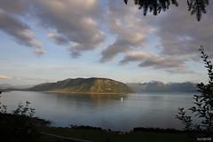 Sunmrsalpene (bluerapsody) Tags: sea mountains alps nature norway clouds landscape ship view fjords sunmre gody storhornet sulafjellet
