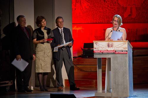 Entrega de los Premios Internacionales Terenci Moix de Literatura, Cinematografia y Artes Escénicas, patrocinado por la Fundación Banco Sabadell