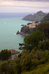 "First Glimpse of Portofino • <a style=""font-size:0.8em;"" href=""http://www.flickr.com/photos/55747300@N00/6174851757/"" target=""_blank"">View on Flickr</a>"