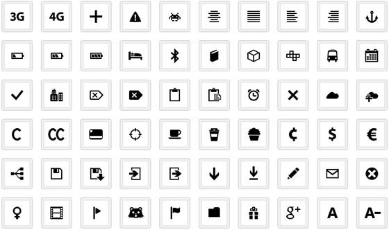 iconos con creative commons