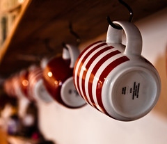 Cup of Tea? (74Pics4U) Tags: red cup bokeh forprint cotcpersonalfavorite
