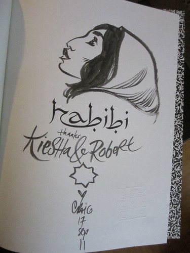Habibi title page