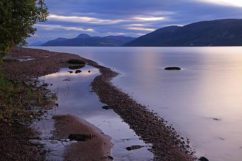 Loch Ness Beach.