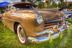 1950 Hudson HDR 2 (hz536n/George Thomas) Tags: summer canon gold lab michigan orphan commodore 5d canon5d hudson upnorth hdr carshow 1951 frankenmuth smrgsbord photomatix autofest labcolor ef1740mmf4lusm hdrphotomatix cs5 topazadjust 2011canon