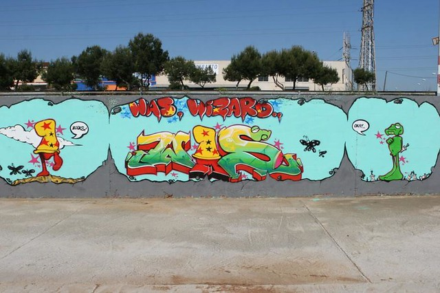 081 WAS GRAFFITI MALAGA