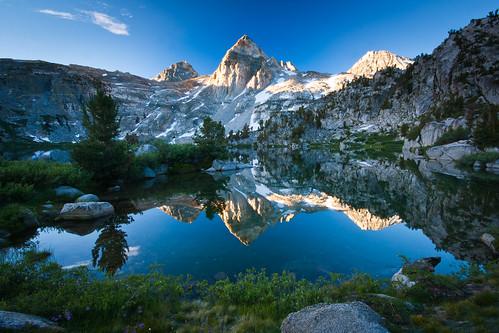 フリー写真素材, 自然・風景, 山, 岩山, 湖・池, カナダ,