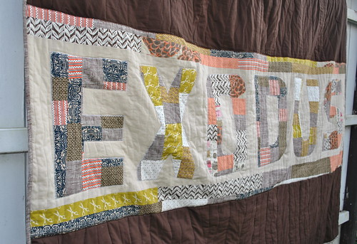Billboard Quiltalong: Exodus Quilt Applique
