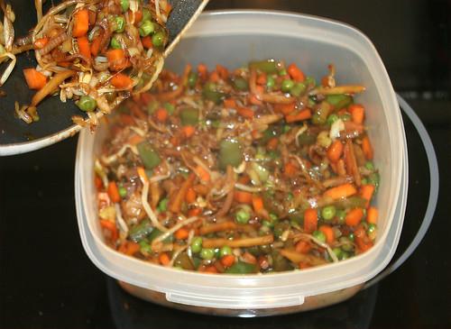 32 - Gemüse beiseite legen
