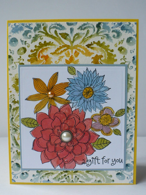 Wedding rainbow card