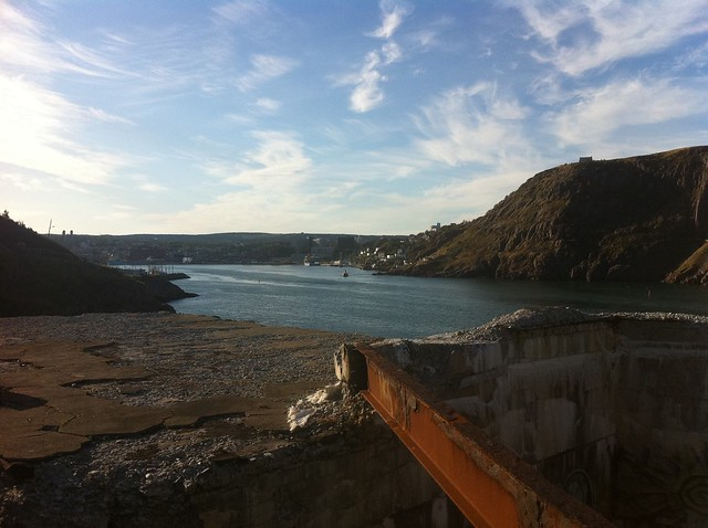 Overlooking Fort Amherst Ruins