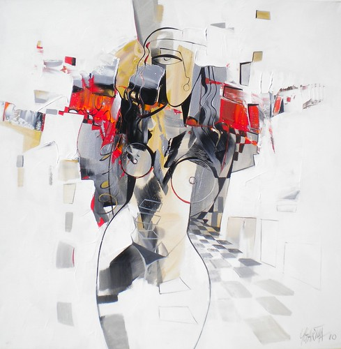 Sola - Painting - Cubism