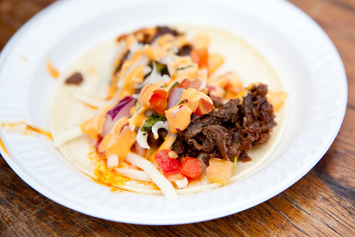 Rib Eye of the Tiger taco