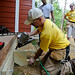 Students Volunteer at Habitat for Humanity