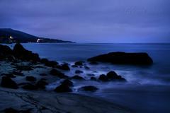 IMG_2783_Latigo Shore and the lights of PCH (Glenn Gilbert) Tags: ocean california sea seascape beach canon landscape evening losangeles pacific malibu shore latigo 50d mygearandme mygearandmepremium mygearandmebronze mygearandmesilver mygearandmegold photocontesttnc13