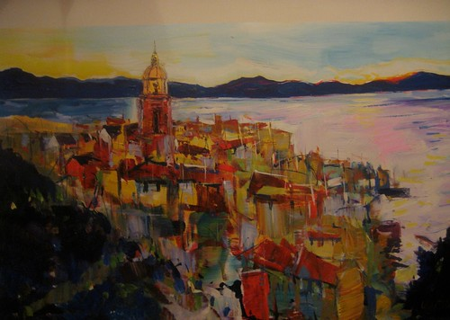 The Riviera - Painting - Impressionism