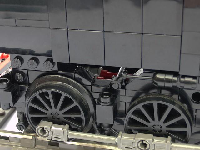 Inside valve gear