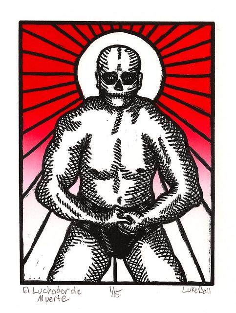 El Luchador de Muerte.