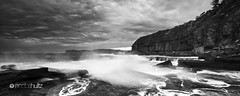 Mystic Madness (J.Shultz Photography) Tags: ocean new longexposure sunset sea cliff sun mist seascape storm blur tree beach water rock set wales clouds landscape bay coast long exposure slow ominous menacing south north central smooth sydney wave australia blurred spray nsw slowshutter shutter land newsouthwales inlet coastline geology centralcoast aus scape southcoast northsydney imposing seaspray ferocious waterscape terrigal beachscape oceanscape skillion theskillion terrigalskillion skillionterrigal