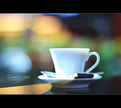 Espresso Coffee (Faisal | Photography) Tags: life morning green colors canon eos 50mm still bokeh unique style usm ef italiancoffee 50d canon50mmf14usm espressocoffee canoneos50d faisal|photography فيصلالعلي