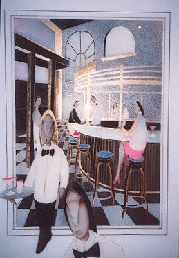 Joe Fortes Restaurant - Painting