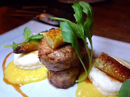 Veal Sweetbreads, Corn Dumplings, Baby Corn, BBQ Caramel at ink