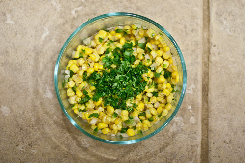 Corn Salsa: Step 3