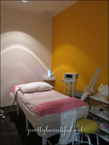 facial treatment room