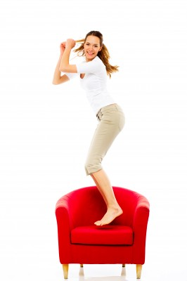 Dancing On Chair