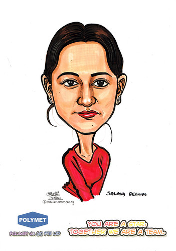 Caricatures for Polymet - 21