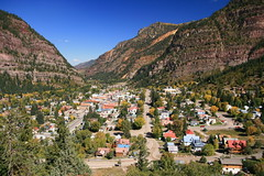 Ouray, CO (littlelori) Tags: trip autumn vacation mountains fall colors beauty landscapes colorado day sunny fair clear pleasant