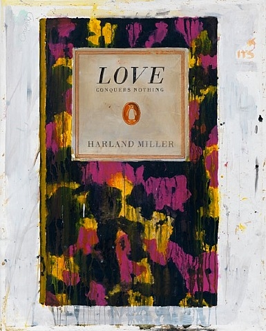 Harland Miller, Love Conquers Nothing, 2011, print