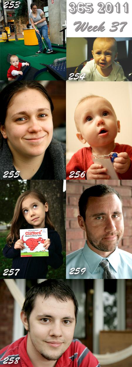 365 2011: Week 37
