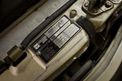 My Mercedes 190E-16V Cosworth (TrackTimeAudio) Tags: sport gold mercedes benz tan plate 25 23 vin cosworth 16v 190e