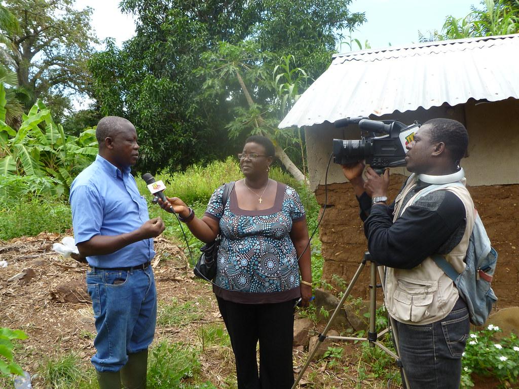Interview TV avec un partenaire IFDC Togo