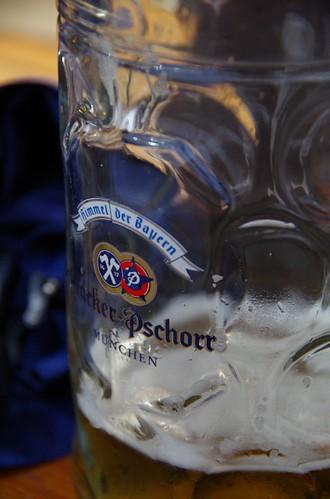 1日目のビール