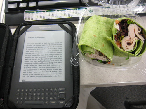kindle and turkey wrap