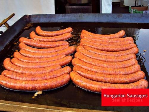 Hungarian sausages, Kolbász