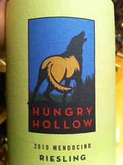 2010 Hungry Hollow Riesling
