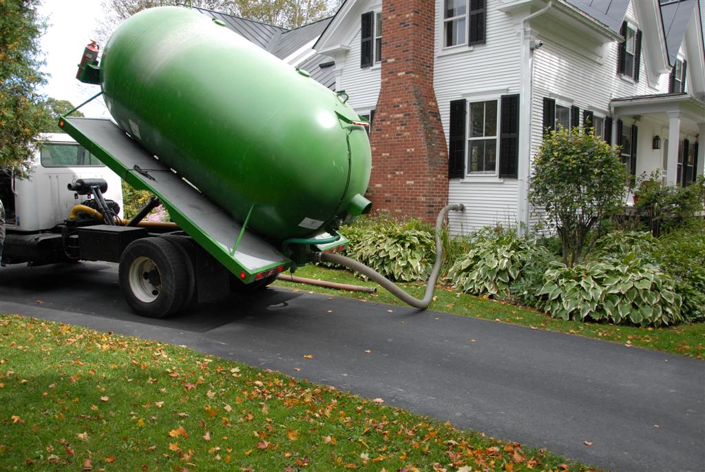 Bulk Pellet Delivery to a Pellergy Installation