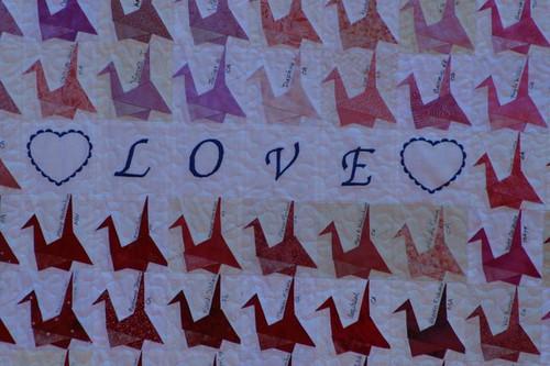 1000 Cranes Quilt