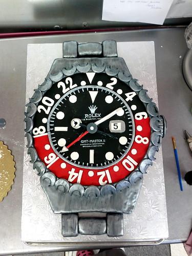 Rolex cake01