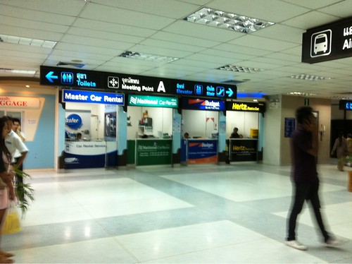 Rental Car Counter @ Phuket Airport
